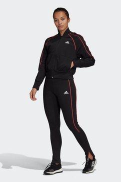adidas performance trainingspak »tracksuit teamsport« zwart