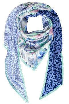 street one modieuze sjaal met print blauw