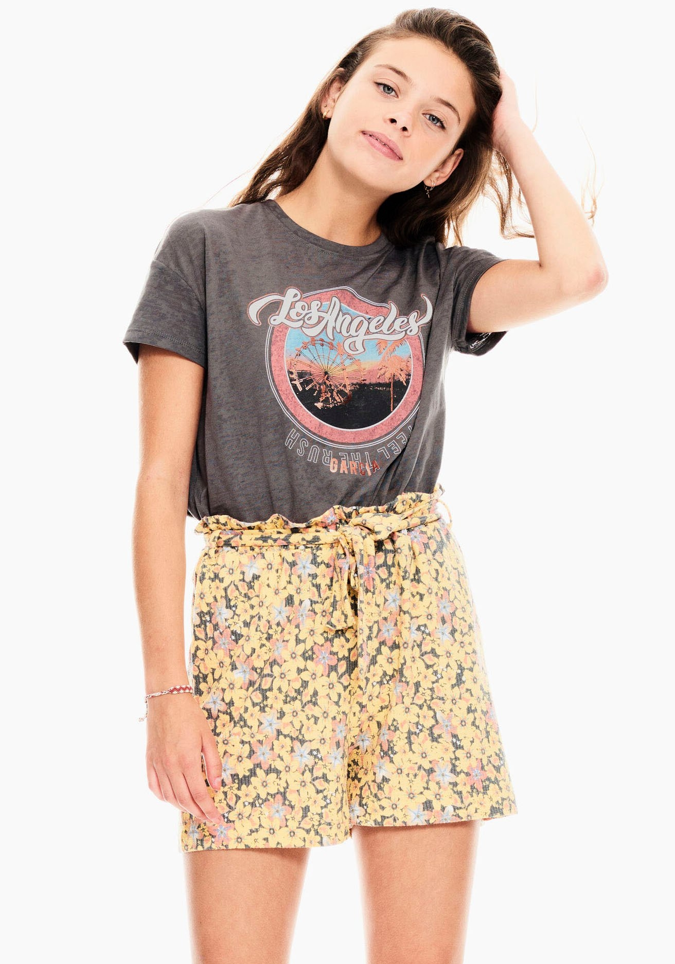 Garcia T-shirt in gebruikte look - gratis ruilen op otto.nl