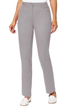 casual looks stretch jeans grijs