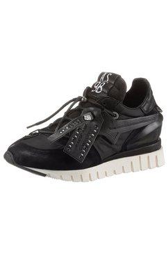 a.s.98 sneakers met sleehak »denastr« zwart