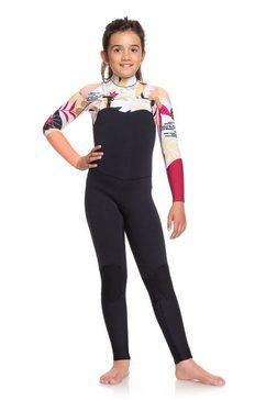 roxy - 3-2mm pop surf - wetsuit met een borstrits voor meisjes 8-16 roze