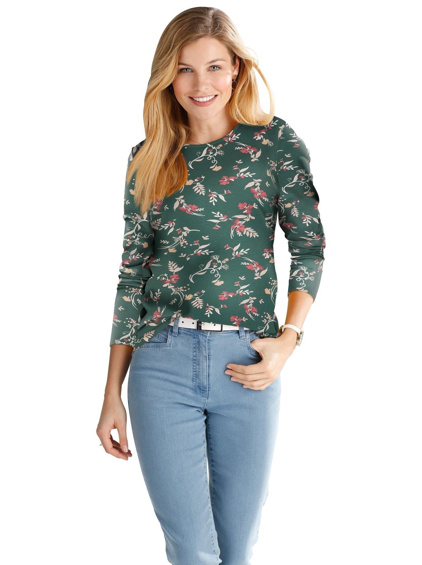 Classic Basics Shirt met print goedkoop op otto.nl kopen