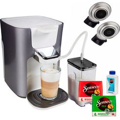 senseo »hd6574-20 latte duo« koffiepadautomaat