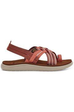 teva sandalen voya strappy bruin