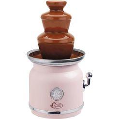 bestron »acf70p« chocoladefontein roze