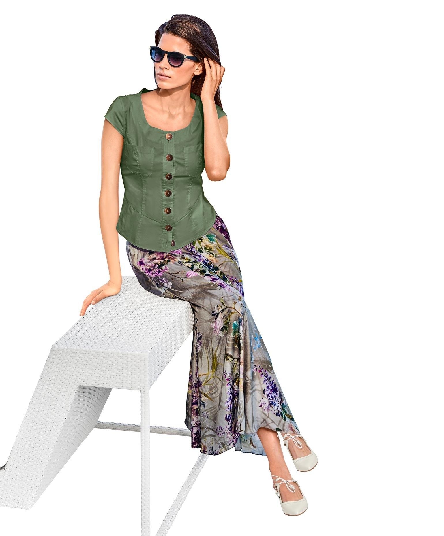 ASHLEY BROOKE by Heine blouse met korte mouwen bestellen: 30 dagen bedenktijd