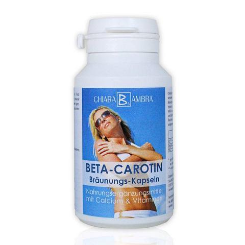 CHIARA AMBRA® Bètacaroteen bruiningscapsules 120st