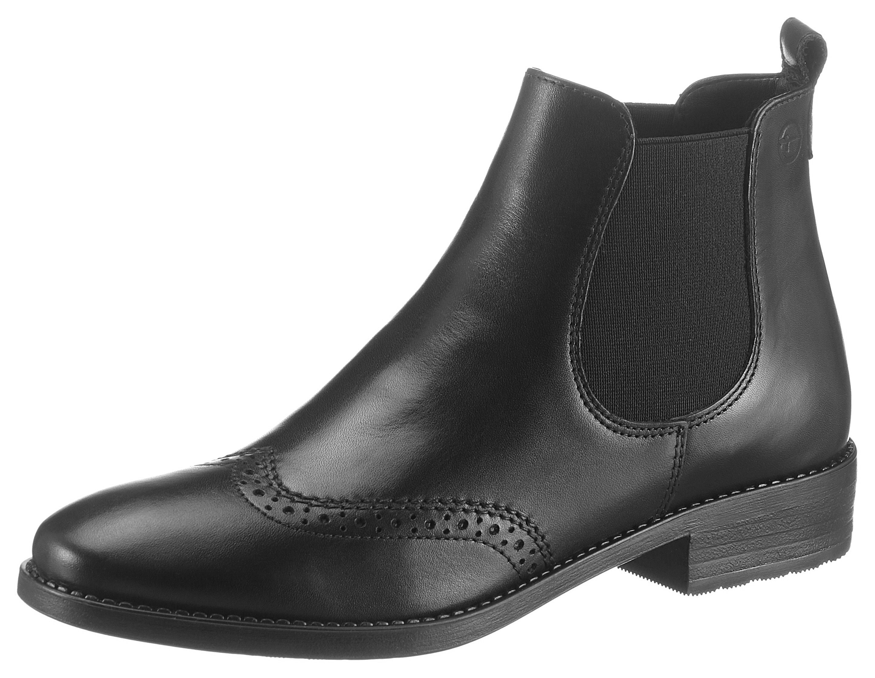 Tamaris Chelsea-boots in elegante look nu online bestellen