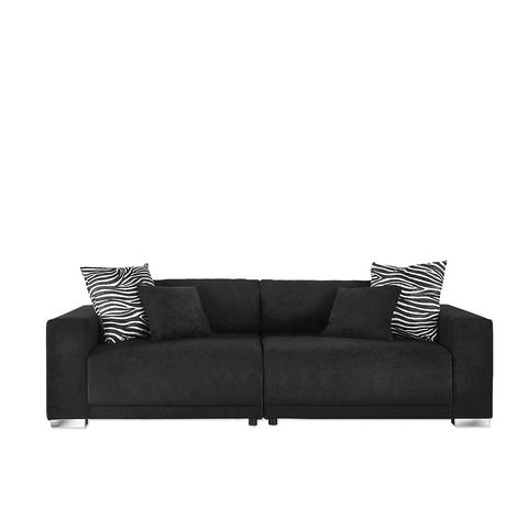 woonkamer extra groot bankstel zwart Big sofa 11
