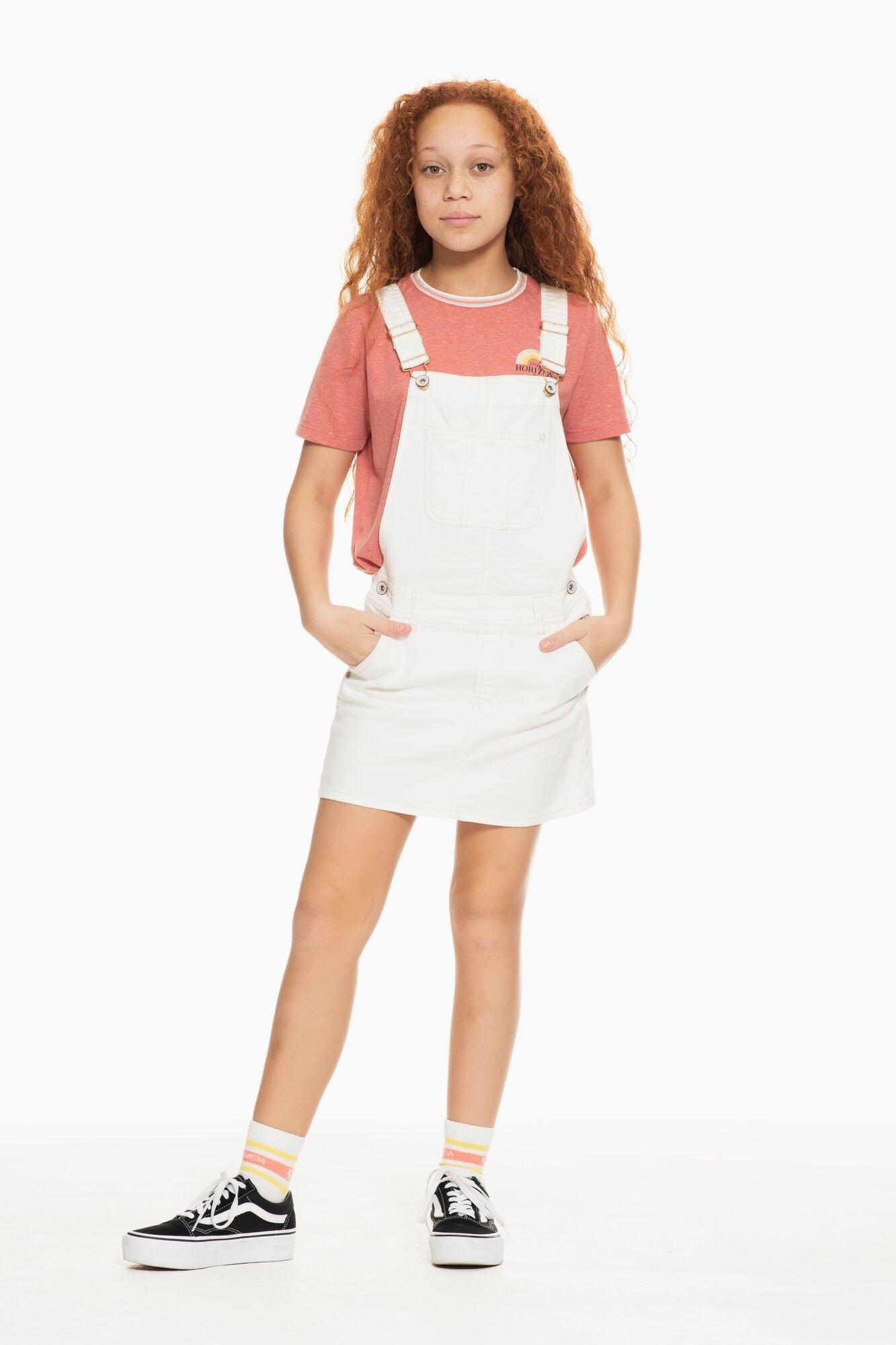 Garcia jurk in a-lijn P02684 - 53-off white 1 met verstelbare schouderbanden nu online kopen bij OTTO