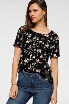 vero moda shirtblouse zwart