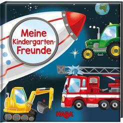 haba boek vriendenboekje voertuigen – meine kindergarten-freunde multicolor