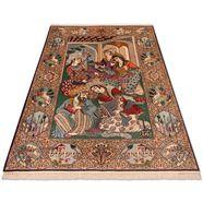 morgenland vloerkleed isfahan teppich handgeknuepft mehrfarbig handgeknoopt multicolor