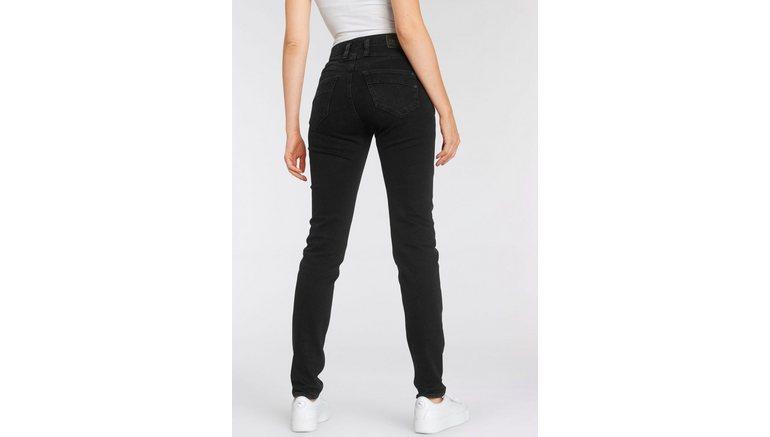 Herrlicher high-waist jeans RADINA POWERSTRETCH met licht push-upeffect