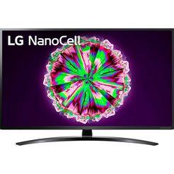 lg »43nano796ne« led-tv zwart