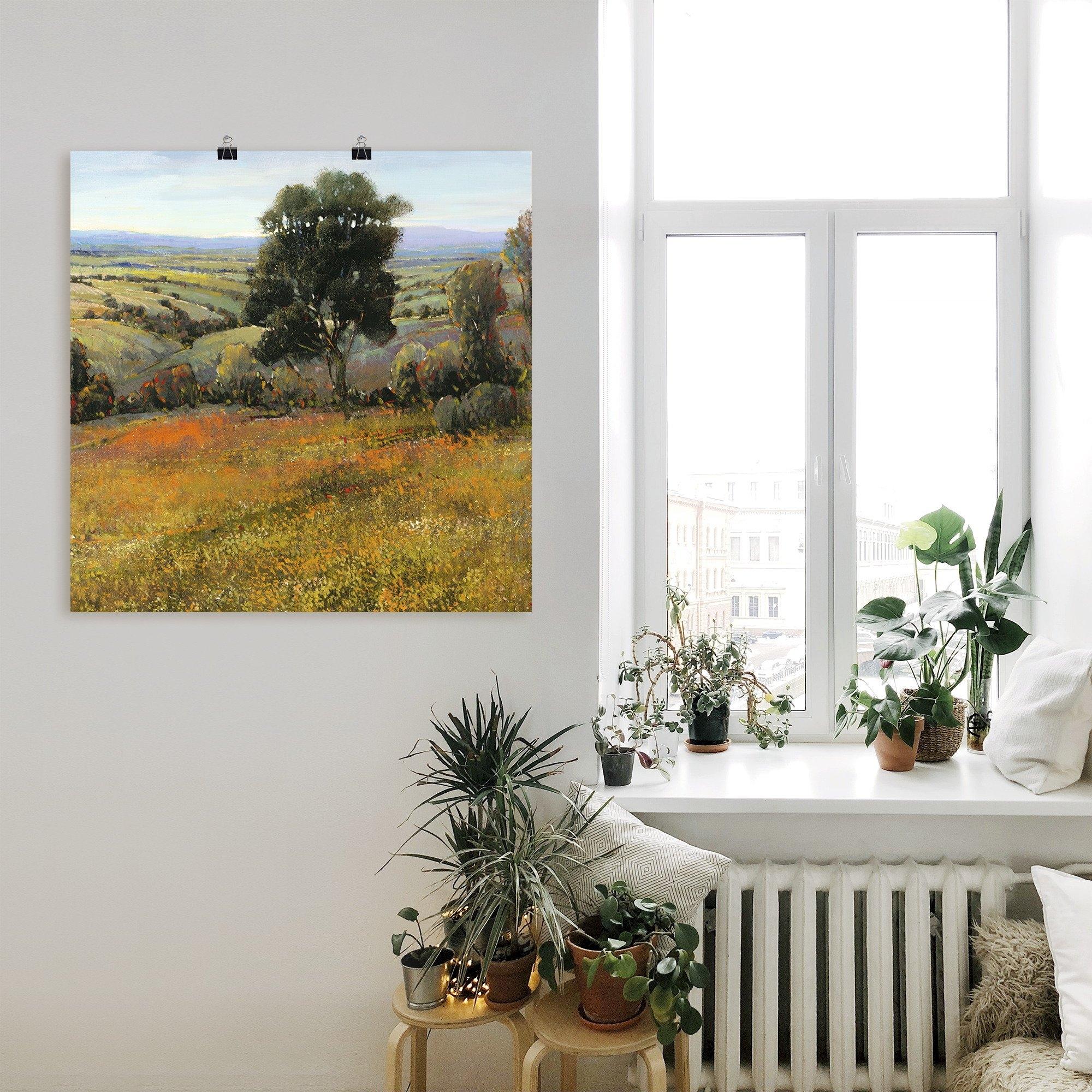 Op zoek naar een Artland artprint Veld in de zomer in vele afmetingen & productsoorten - artprint van aluminium / artprint voor buiten, artprint op linnen, poster, muursticker / wandfolie ook geschikt voor de badkamer (1 stuk)? Koop online bij OTTO