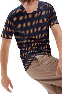 vans t-shirt »chaparral stripe« blauw