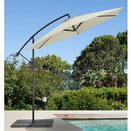 gartengut parasol »sunshine«, h-ø: 210-300 cm beige