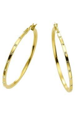 firetti oorbellen: oorringen met zirkoon goud
