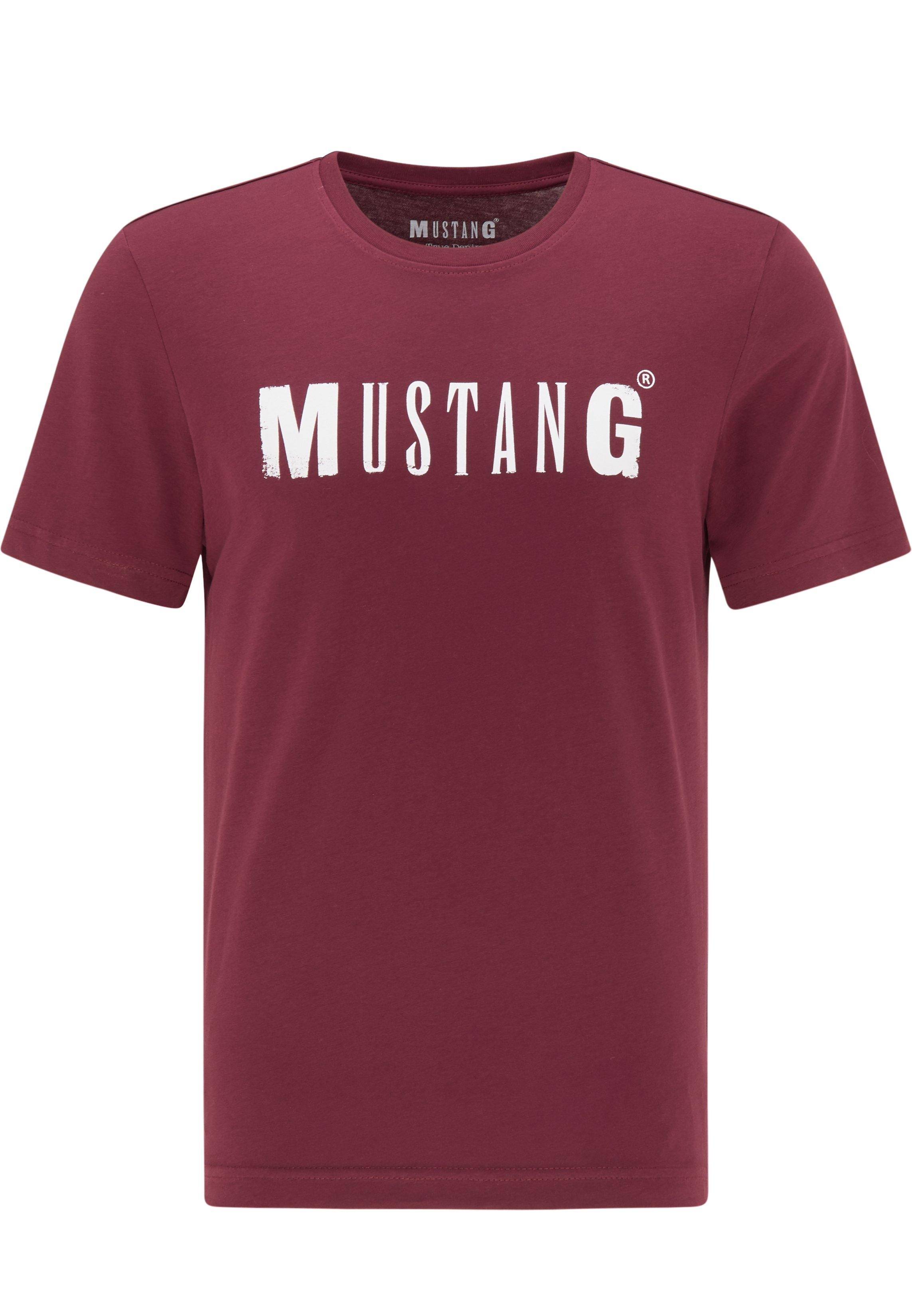 MUSTANG T-shirt Logo Tee nu online kopen bij OTTO