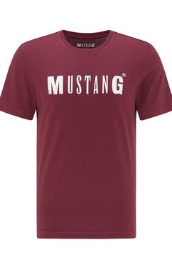 mustang t-shirt rood