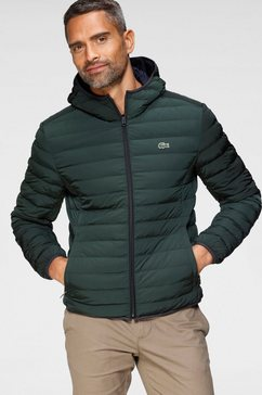 lacoste gewatteerde jas groen