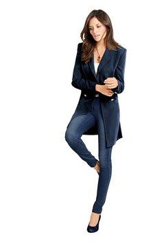 linea tesini by heine lange blazer blauw