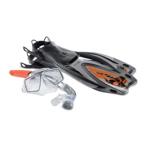 Duikmasker + snorkel + zwemvliezen, Aqua Lung Sport, 'SET PROFLEX PRO ADJ'