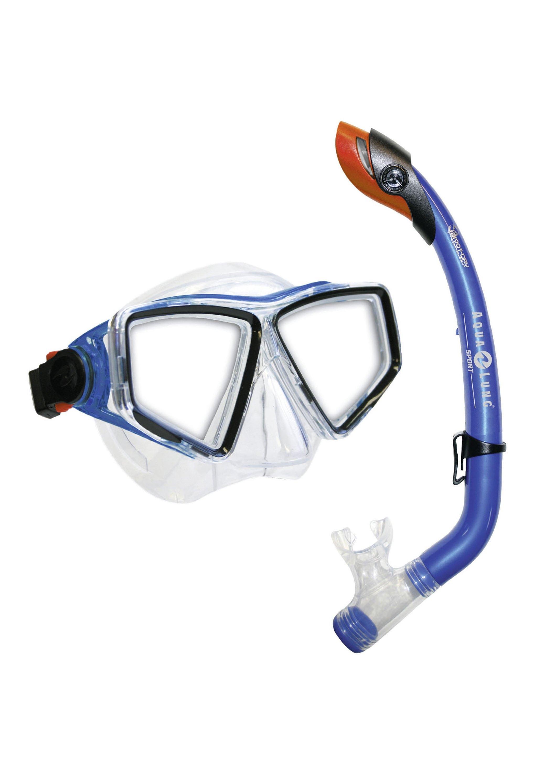 Aqua Lung Sport Duikmasker + snorkel, 'LANAI LX/PARADISE PRO JR.', 2-delige set goedkoop op otto.nl kopen