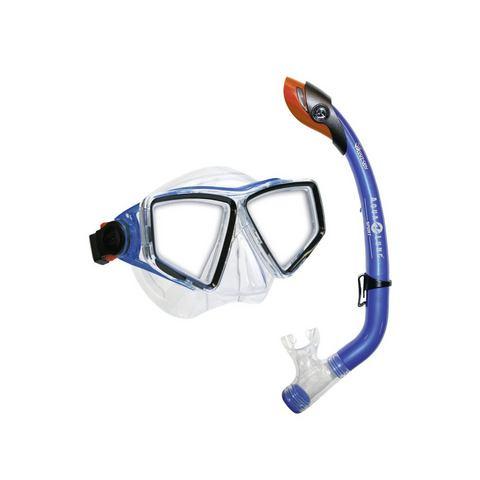 Duikmasker + snorkel, Aqua Lung Sport, 'LANAI LX/PARADISE PRO JR.', 2-delige set
