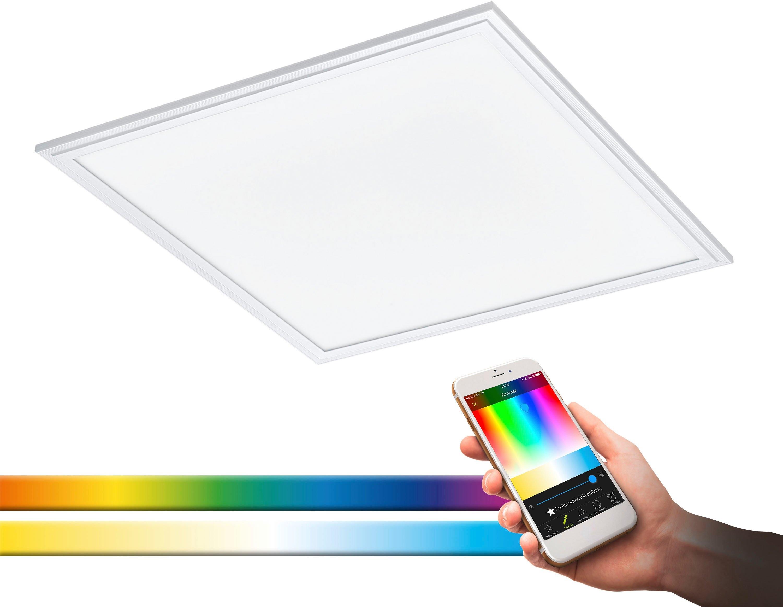 EGLO plafondlamp SALOBRENA-C EGLO CONNECT, bediening via app + afstandsbediening, BLE, CCT, RGB bij OTTO online kopen
