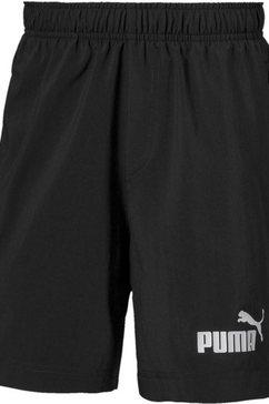 """puma short ess woven shorts 5"""" b zwart"""