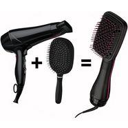 revlon stijlborstel rvdr5212uk2 salon one-step hair dryer  styler zwart
