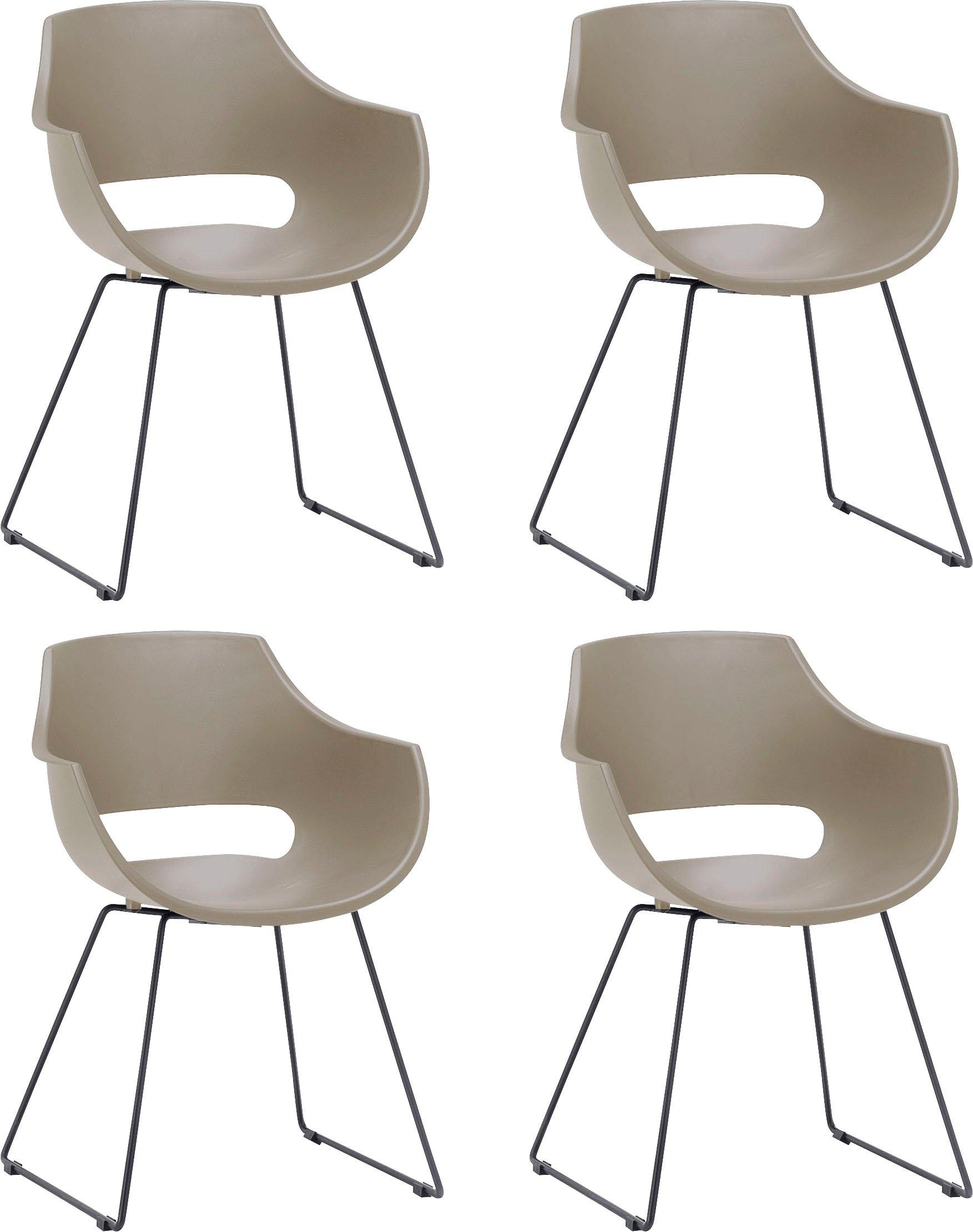 MCA furniture Kuipstoel Rockville Stoel belastbaar tot 120 kg (set, 4 stuks) bestellen: 30 dagen bedenktijd