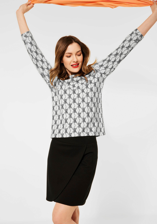 Op zoek naar een STREET ONE Shirt met ronde hals van gedessineerd materiaal? Koop online bij OTTO