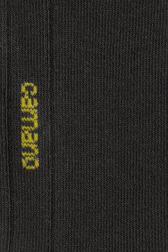 camano korte sokken (7 paar) zwart