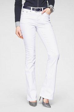 arizona bootcut jeans shaping high waist wit