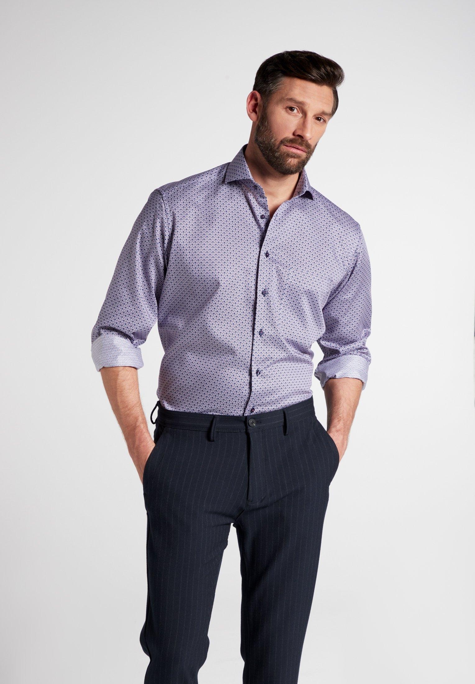 Eterna businessoverhemd Comfort fit Lange mouwen nu online kopen bij OTTO