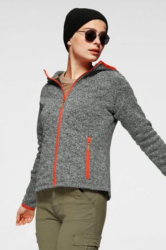 icepeak tricot-fleecejack appleton grijs