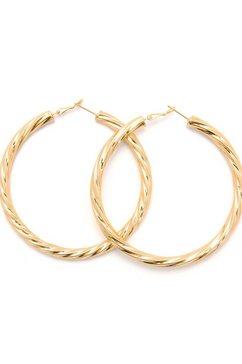 j.jayz oorringen stijlvol en tijdloos in gedraaid design goud