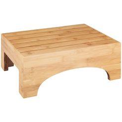 wenko badkruk bambusa bxdxh: 40x17x30 cm beige