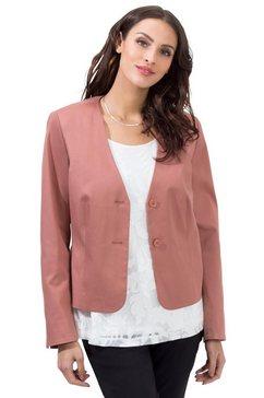 lady korte blazer roze