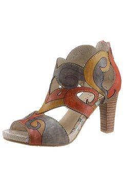 laura vita sandaaltjes alcbaneo 121 in een opvallende look oranje
