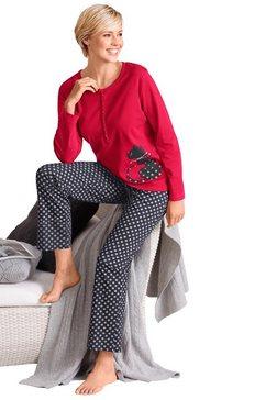 pyjama met poezenprint