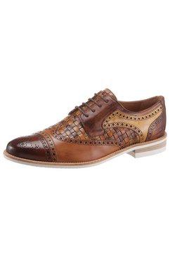 melvin  hamilton schoenen met perforatie »henry 7 nachhaltig« bruin