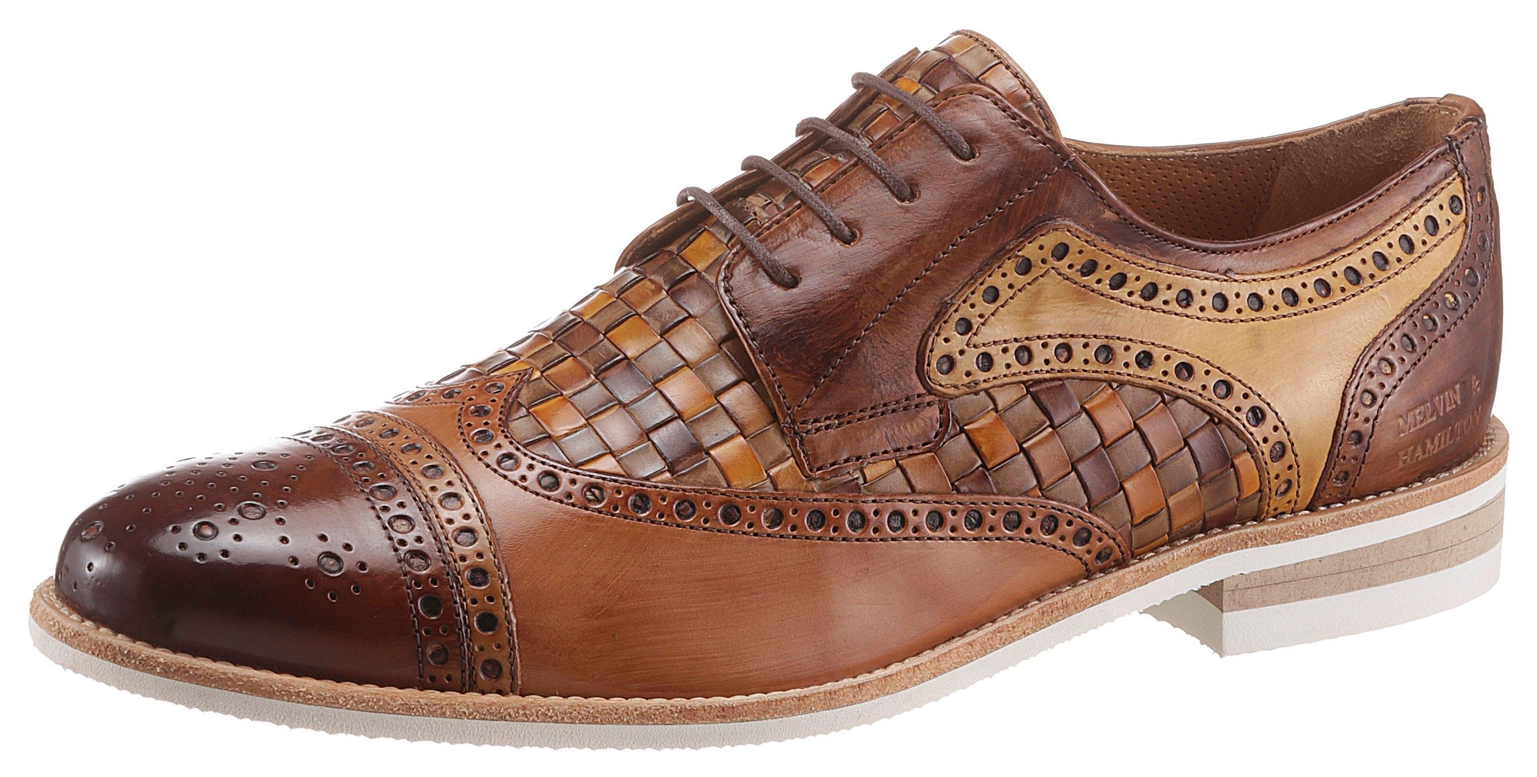 Melvin & Hamilton schoenen met perforatie »Henry 7 nachhaltig« nu online kopen bij OTTO