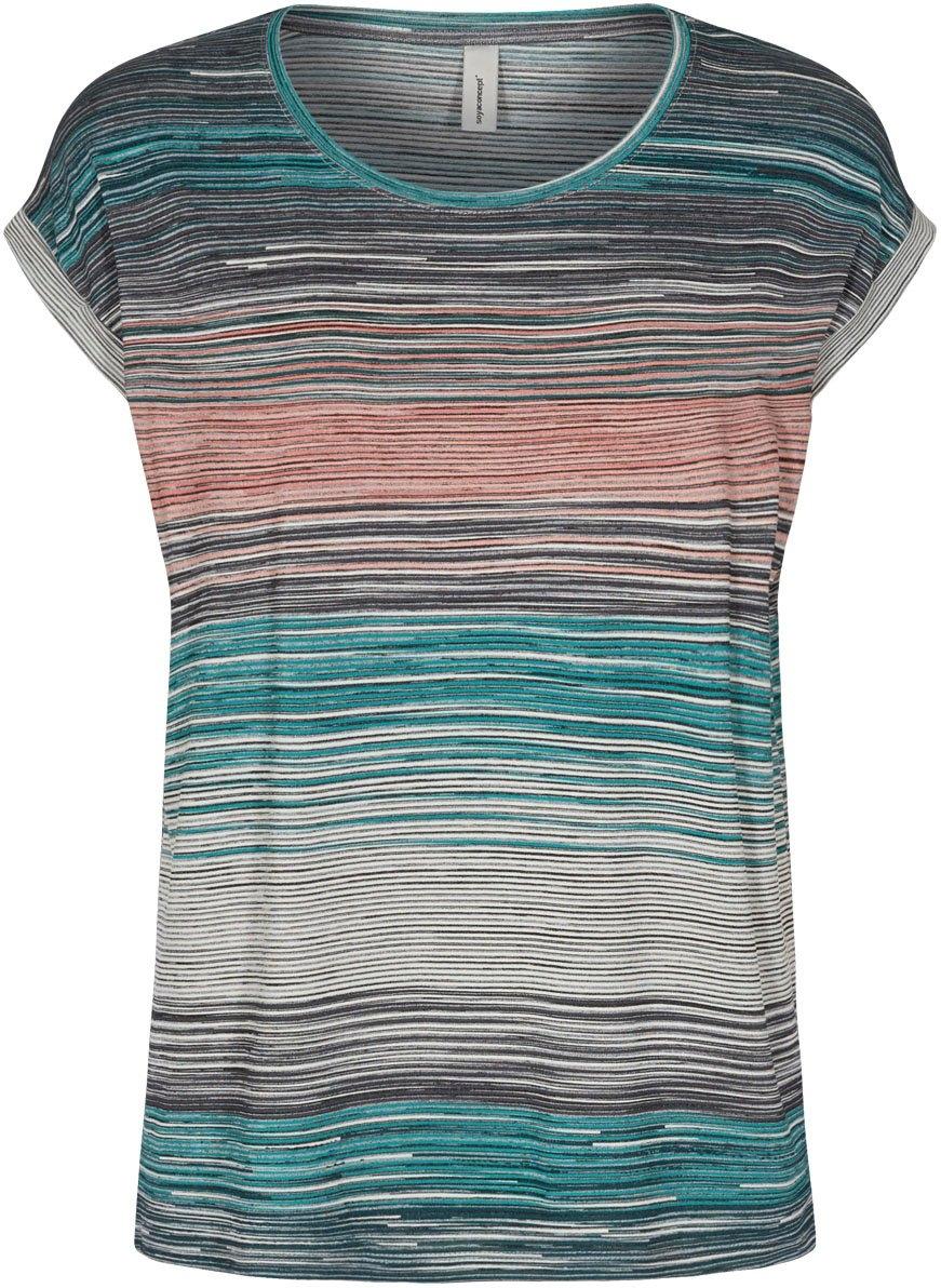 soyaconcept shirt met ronde hals met streepdessin - gratis ruilen op otto.nl