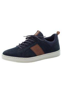 rieker sneakers met witte loopzool blauw
