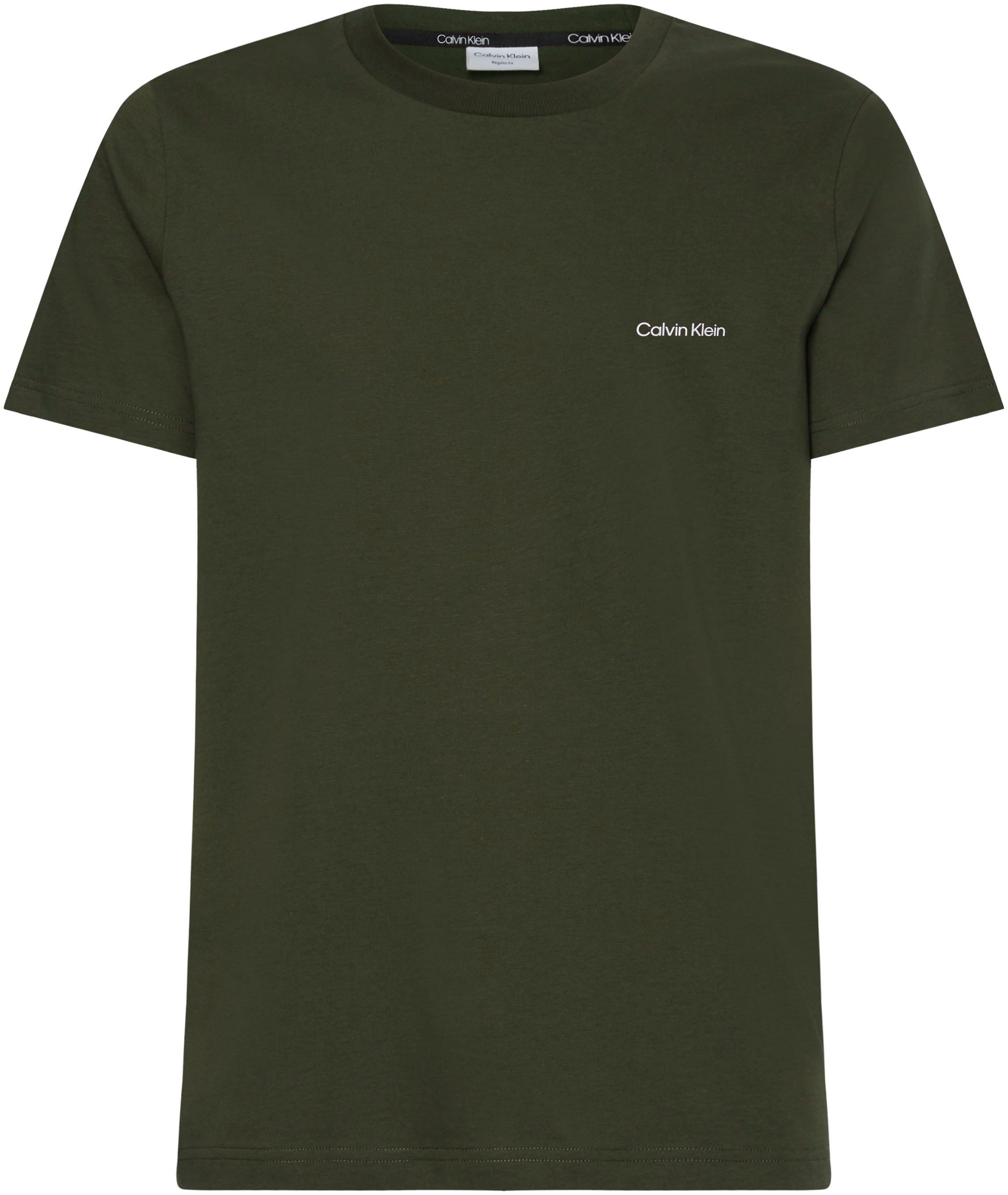 Calvin Klein T-shirt COTTON CHEST LOGO klein calvin klein-opschrift goedkoop op otto.nl kopen